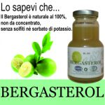 bergasterol . succo di bergamotto